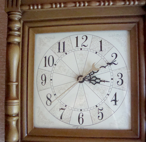 Vintage Nos Nutone Telechron Mid Century Wall Clock
